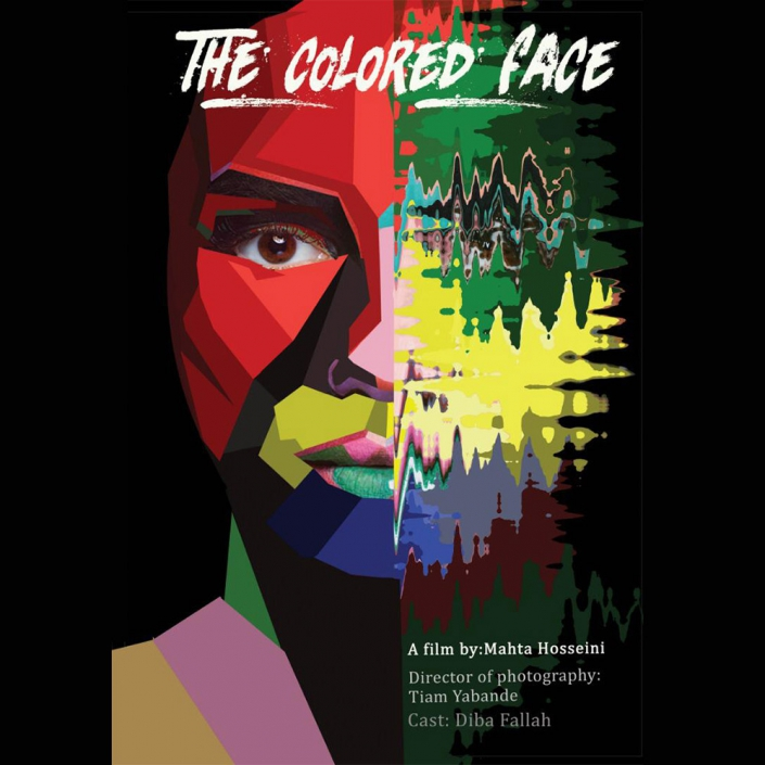the colored face